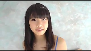 beauty japan girl coming out from college