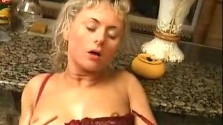 Drunk German girls join a piss and fuck orgy