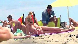 Incredible Nudist Cap Agde french 2015 Beach Part2