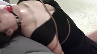 Chinese Pretty Bondage with Ballgag