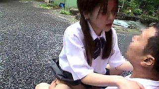 Asian Japanese teen big boobs creampie