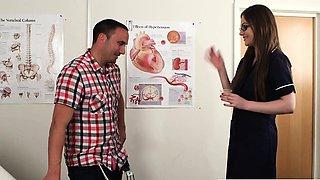 Nurse helps sperm donor