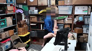 Dad office and blonde school girl first time Suspect and acc