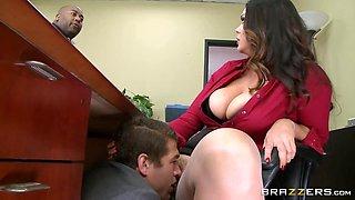 Brazzers - Alison Tyler has a little office f