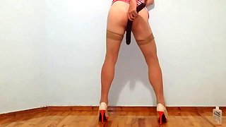 Hot Crossdressing the first time!