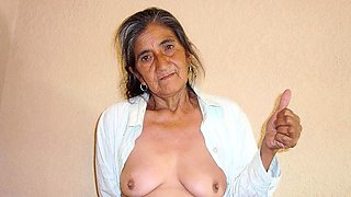 HelloGrannY Collecton of Old Latin Mature Ladies