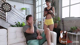 Hot young sisters fuck brother without eachothers knowledge