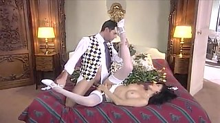 Classic porn. Excellent maids in lingerie