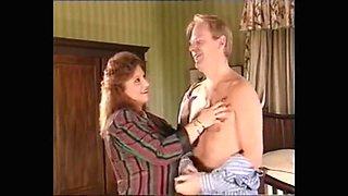 Vintage big tits milf gets pussy licking
