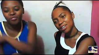 bossgirls pro: intimate session with two sweet african girls