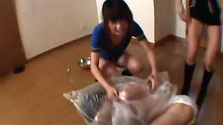 Fabulous JAV censored adult video with incredible japanese chicks