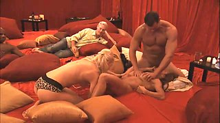 Newly married pair attends a swingers party