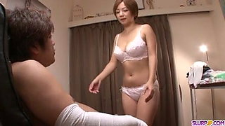 MILF Meguru Kosaka Sucks Dick And 69s In POV