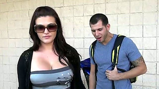 Big breasted hottie with big ass seduces her best friend's boyfriend