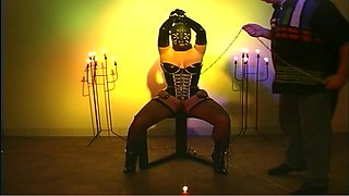 Sweet BDSM video with a hardcore chubby babe