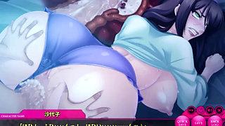 Hot slut fucked in hard-core animation