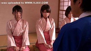 Exotic Japanese girl in Incredible JAV censored Fingering, College clip
