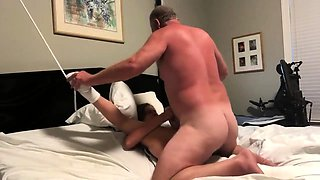 Submissive mature wife gets treated to a hardcore pounding