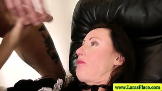 Mature stockings getting licked before pussy fucked in hd