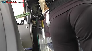Constricted sexy panties and VPL