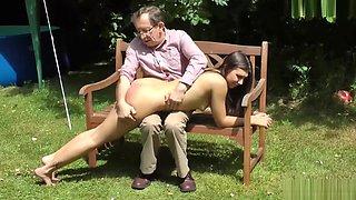 M/F spanking