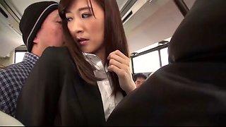 UMAD082 Bus gangbang  video clip1