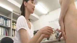 CFNM example of nudist student being scolded by teacher for