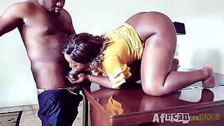 African ebony hot