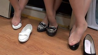 nylon feet Close-up (Chinese)