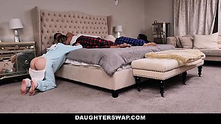 DaughterSwap - Dads Fucked Daughters After Watching Movie
