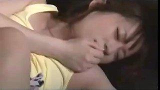 Stepdad seducing his step daughter sleeping on sofa