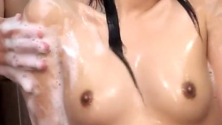 Hottest Japanese whore Chika Arimura in Crazy Close-up, Shower JAV movie