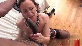Hot secretary bondage squirt