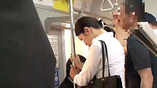 Japanese teacher abused on train