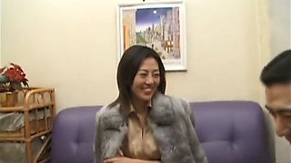 Amazing Japanese girl in Fabulous Threesomes, Amateur JAV scene