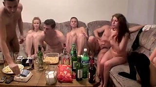 Czech students staged an orgy at the party