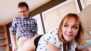 Homemade bisexual family orgy and dad companion'