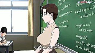 Teacher fucking student hentai