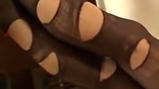 A great femdom Asian movie with a lot of slaves