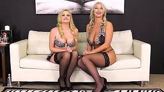 Voluptuous babes Katy and London had an amazing time