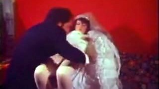 Sexy Vintage Anal Sex Movie Scene Excited Virgin Bride Drilled In A-Hole