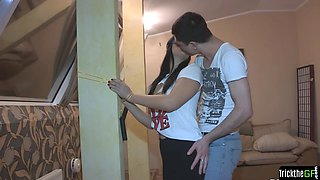 Doggystyled cheating gf getting punished