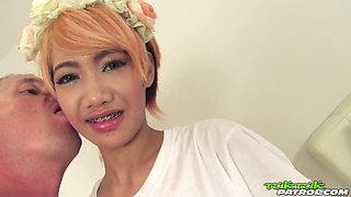 TUKTUKPATROL Moaning Thai Teen Deserves The Rough Stuff