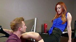 Redheaded Boss Karlie Montana