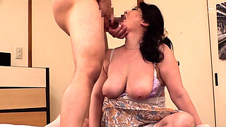 Curvy mature Japanese nympho can't get enough hardcore sex