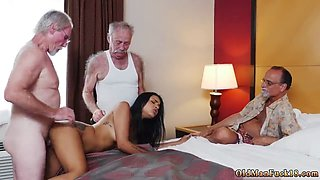 Young fuck old woman Staycation with a Latin Hottie