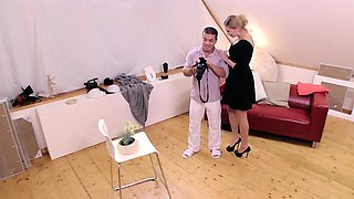 MY NAUGHTY ALBUM - Sex during audition with hot Russian babe