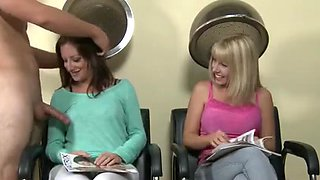 hair salon with a big surprise