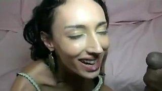 slender french arab bbc anal