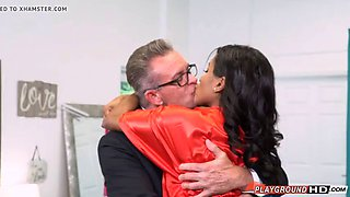 white dad fucks her teenage daughter ebony step on her marriage